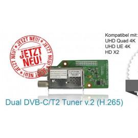 Tuner Gigablue QUAD UHD 4k DVB - C -T2 v 2.0
