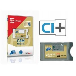 SmarCam Tivusat Cam Ci+ e Tessera Tivusat card Gold HD 4K