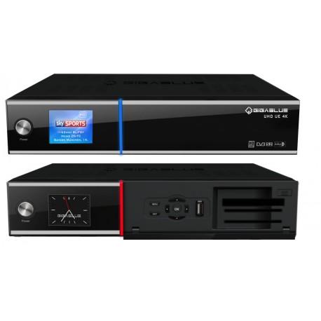 Gigablue ULTRA UE 4K Triple DVB-S2 FBC Twin + DVB-T2