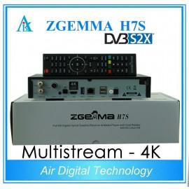Zgemma H7S - 4k - Dual sat DVB-s2X e DVB-T2 - Triple