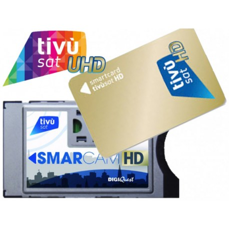 Tivusat Cam HD + Card Gold inclusa