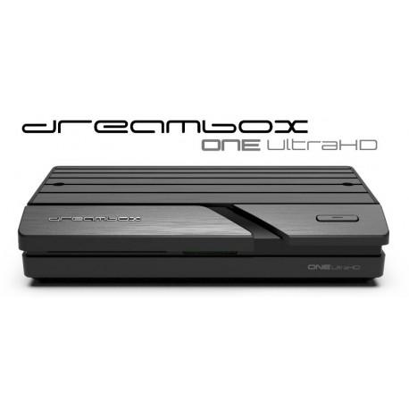 DREAMBOX ONE 4K UHD 2X DVB-S2X DUAL WIFI H.265 HEVC