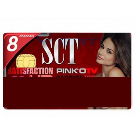 SCT 8 canali 1 anno Viaccess 6.0