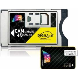 CAM e CARDTivusat 4K UHD CI+