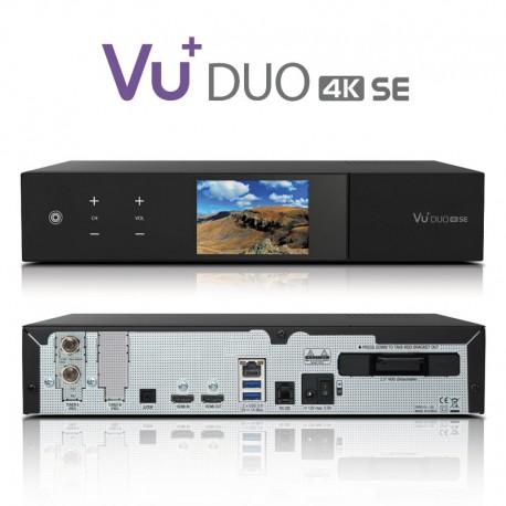 Vu+ Plus Ultimo 4k TRIPLE TUNER dual DVB-S2 + 1 Tuner DVB-T2